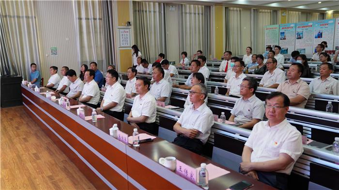 长清区纪委监委举行庆祝中国共产党成立100周年诗文咏诵会